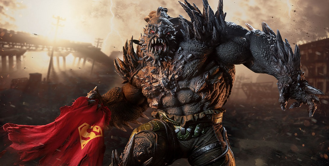 Sideshow Collectibles Doomsday Statue Revealed Dc Comics News