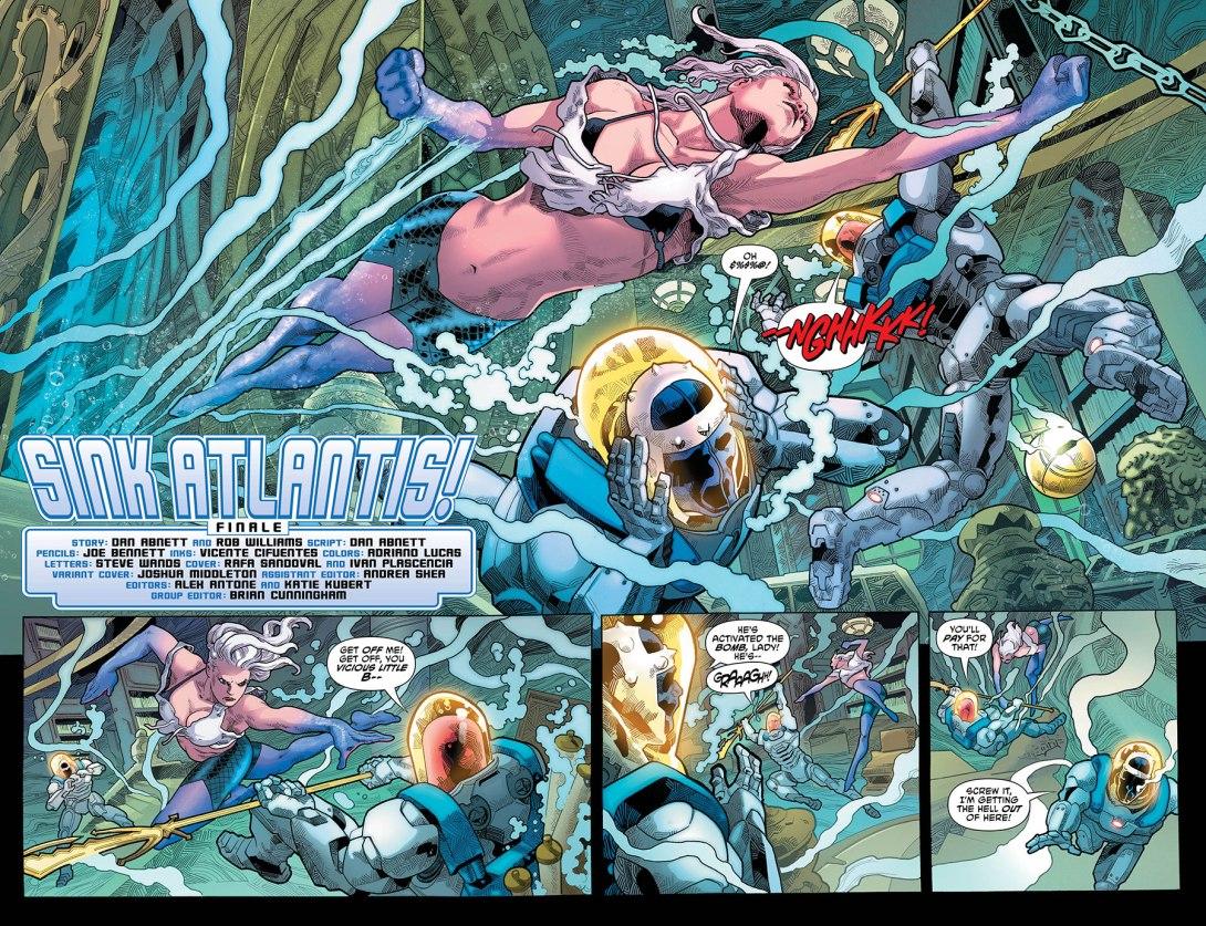 Aquaman 2-3 - DC Comics News