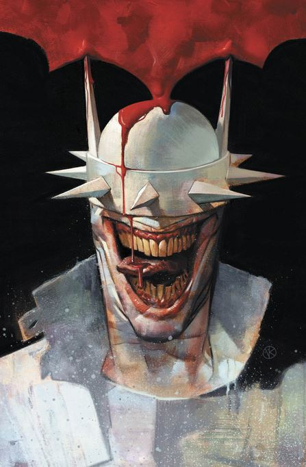 Batman Who Laughs Alternate Cover
