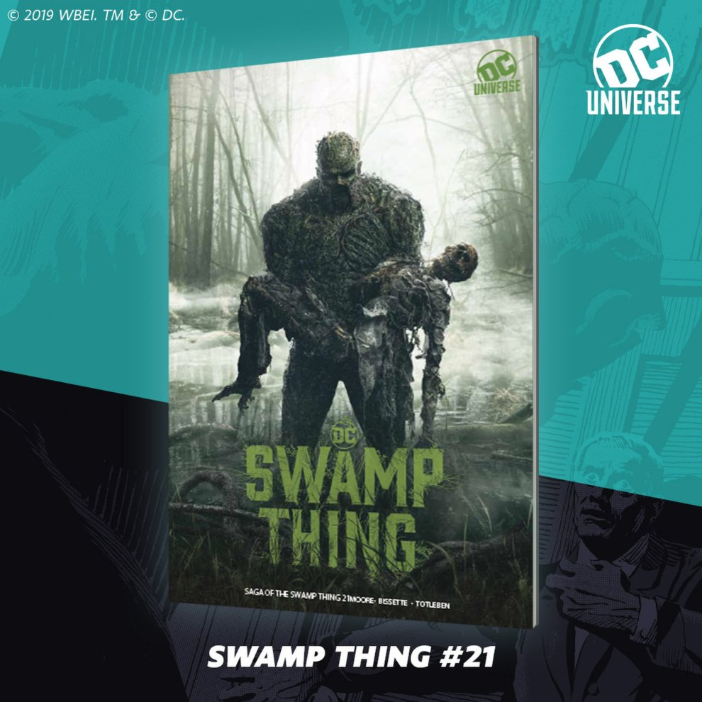Swamp Thing SDCC Variant