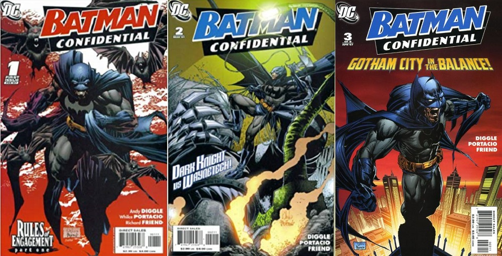 Batman: Confidential was a 12 issue mini-series written by Andy Diggle