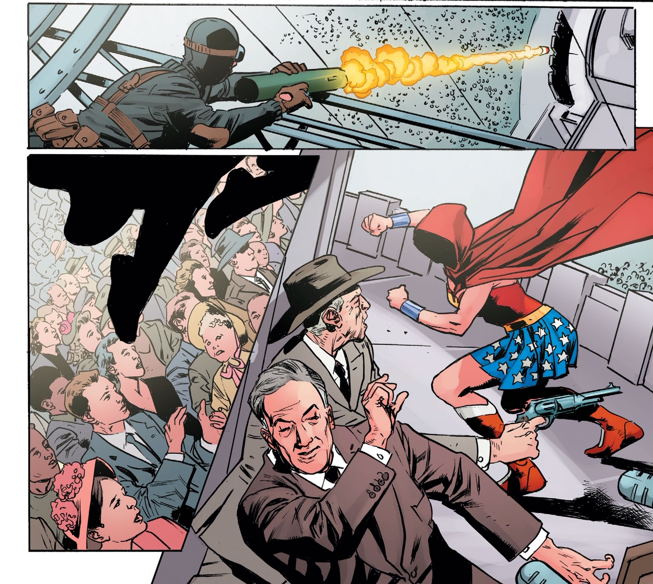 """First Look: """"A Brave New World"""" by Scott Snyder and Bryan Hitch appearing in Wonder Woman #750"""