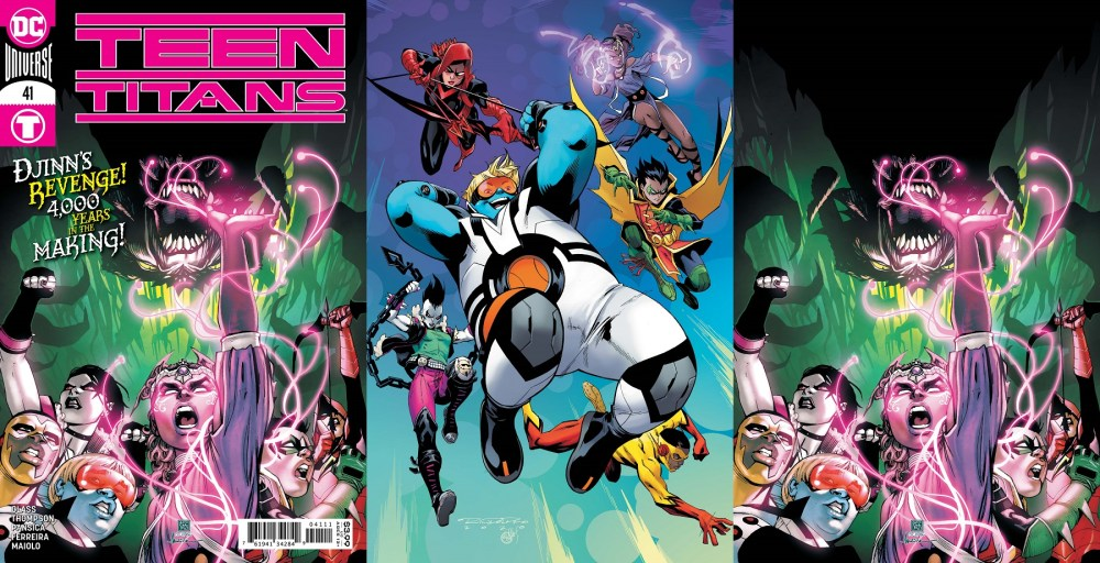 Teen Titans #41 Covers