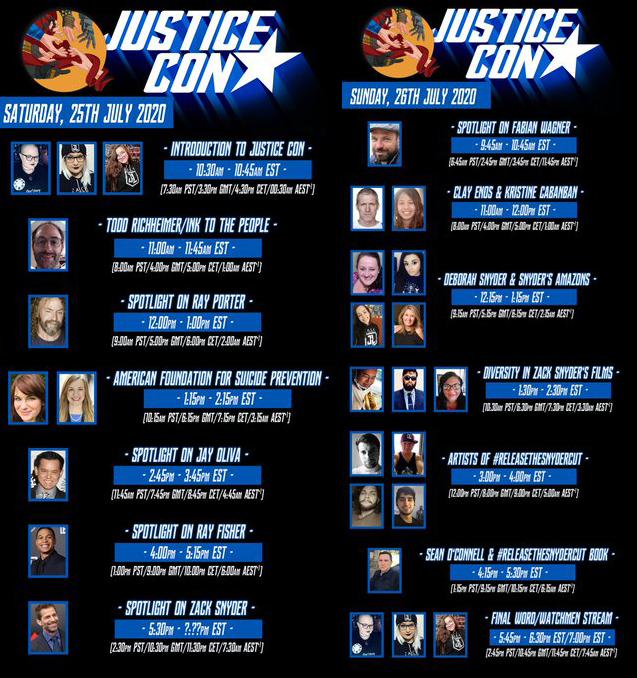 Justice Con DC Comics news