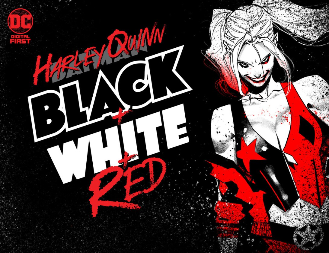 Harley Quinn: Black White Red