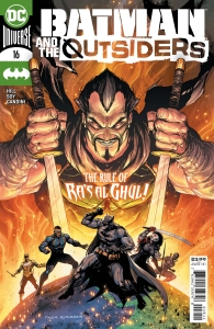 Batman and the Outsiders #16