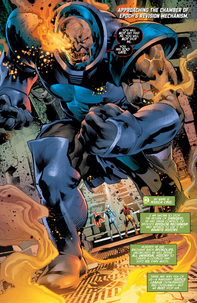 Review: Justice League Odyssey 25-Darkseid-Is-Coming-For-You