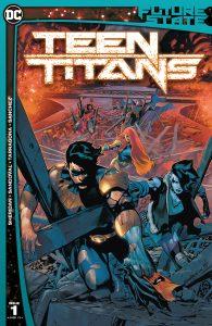 Future State Teen Titans 1 Cover DC Comics News