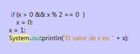 Figura 3: Ejemplo de código