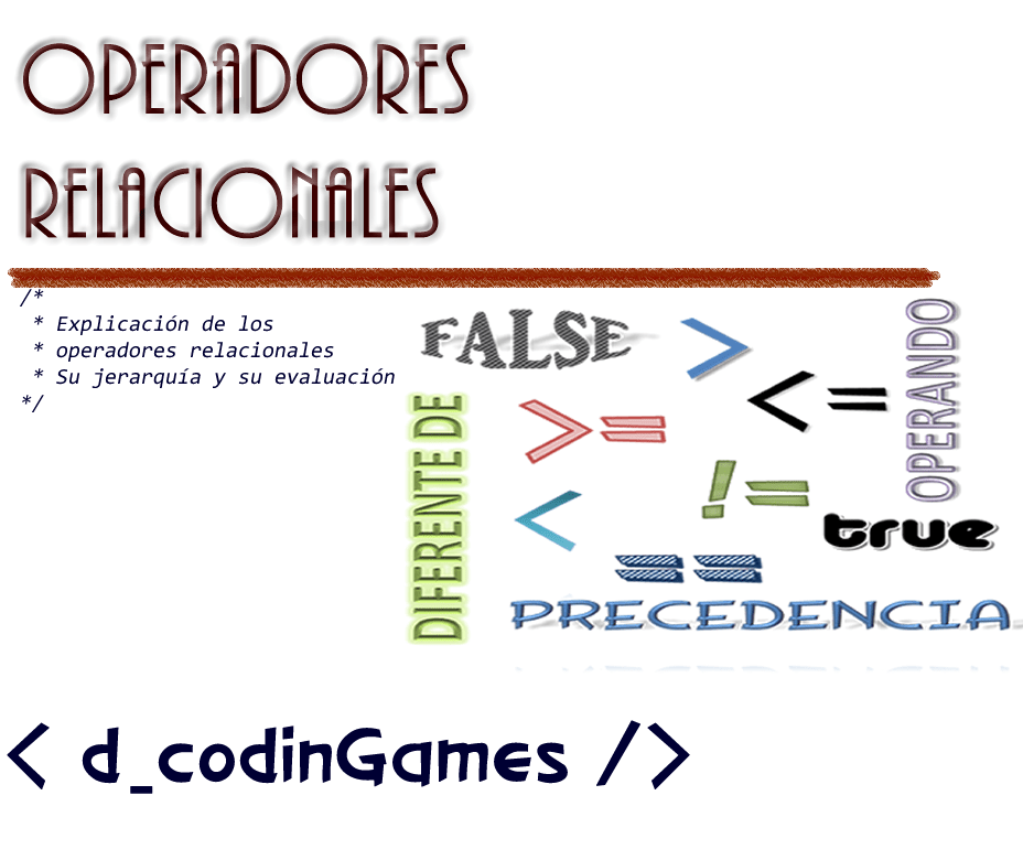 dCodinGames - Operadores relacionales