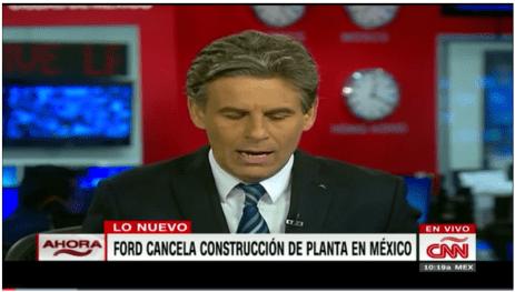 CNN - Expansión: Ford cancela la construcción de una plata en México, retos 2017