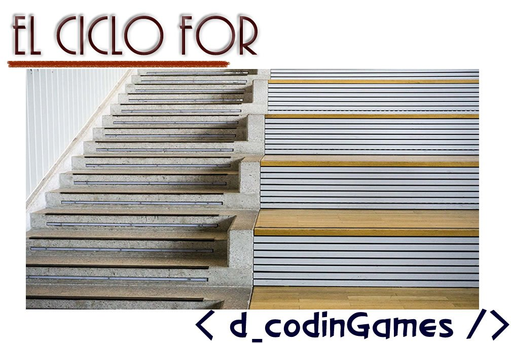 dCodinGames - El ciclo for