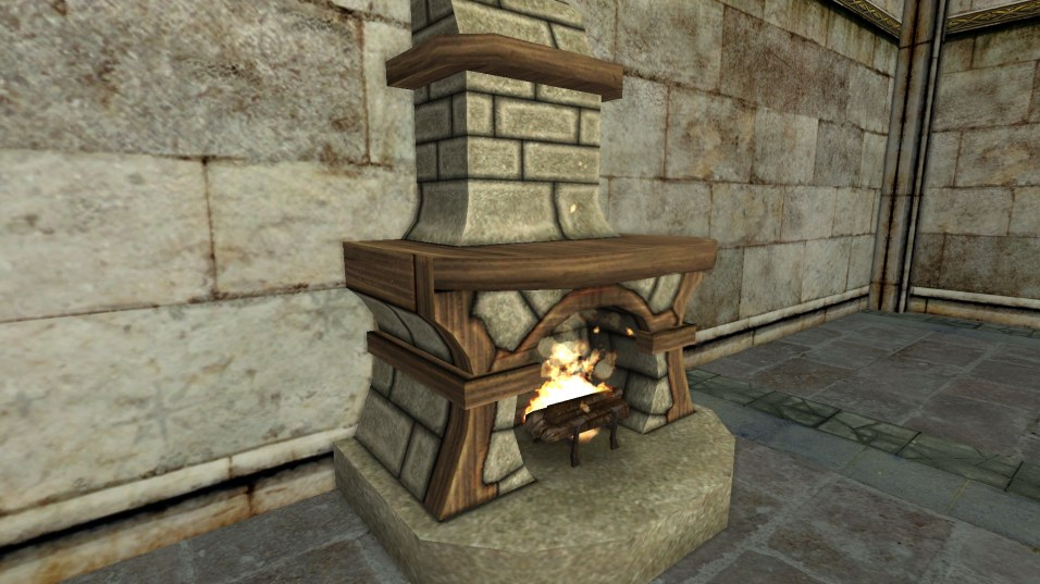 petite cheminée en pierre 2