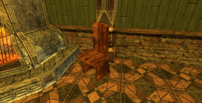 Chaise sobre des Rohirrim