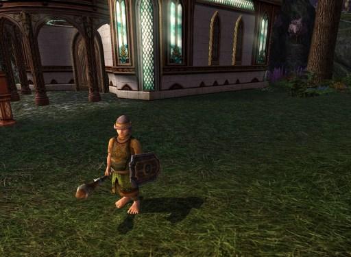 Garde de propriété Hobbit