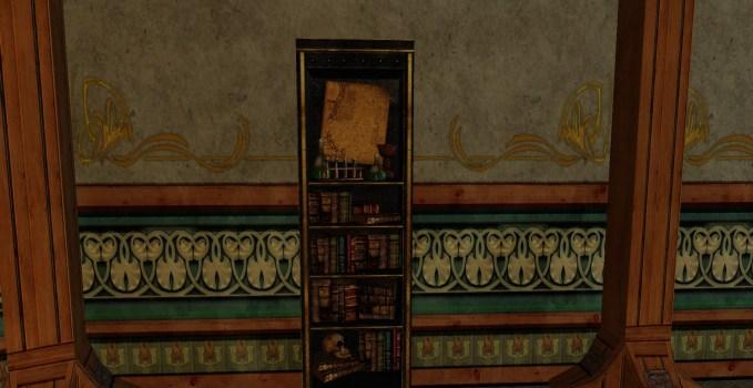 Bibliothèque d'Alchimiste