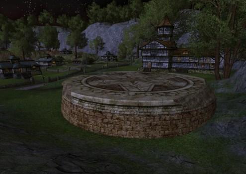 Estrade de Pierre en Ruine