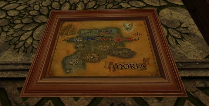 Petite carte de Bingo dans la Moria