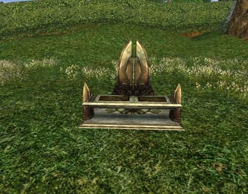 Banc à Double Dossier du Gondor