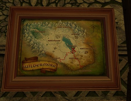 Grande carte de Bingo dans les Landes Farouches