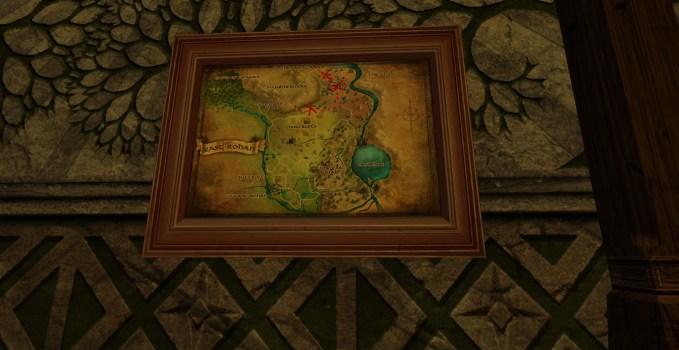 Petite carte de Bingo dans le Rohan Est