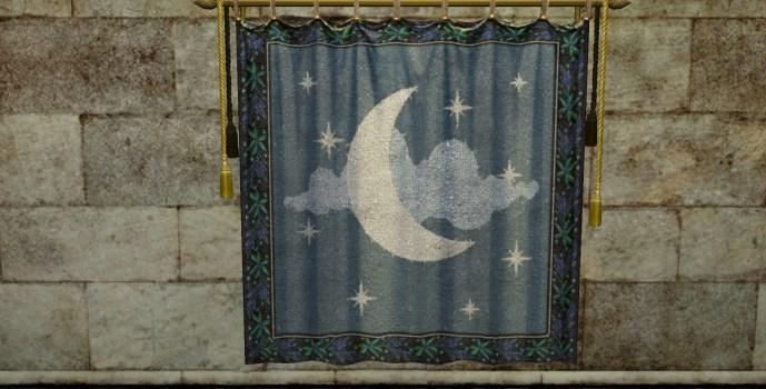 Tapisserie de la lune