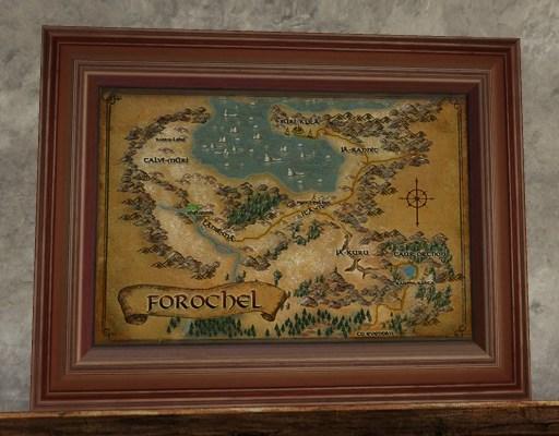 Carte du Forochel