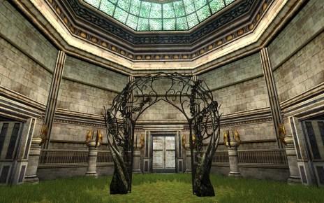 Porte de jardin la Lorien