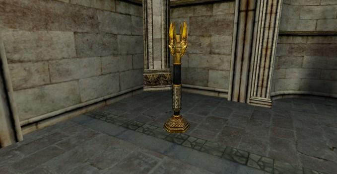 Grand candélabre du Gondor