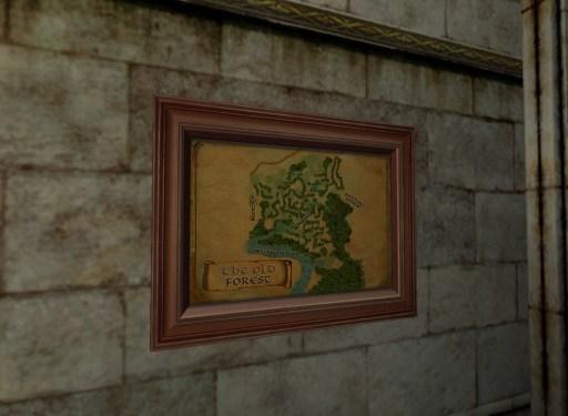 Carte de la Vieille Forêt