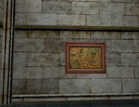 Carte du Pays de Bree