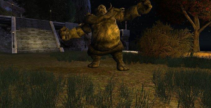 Premier Troll de pierre
