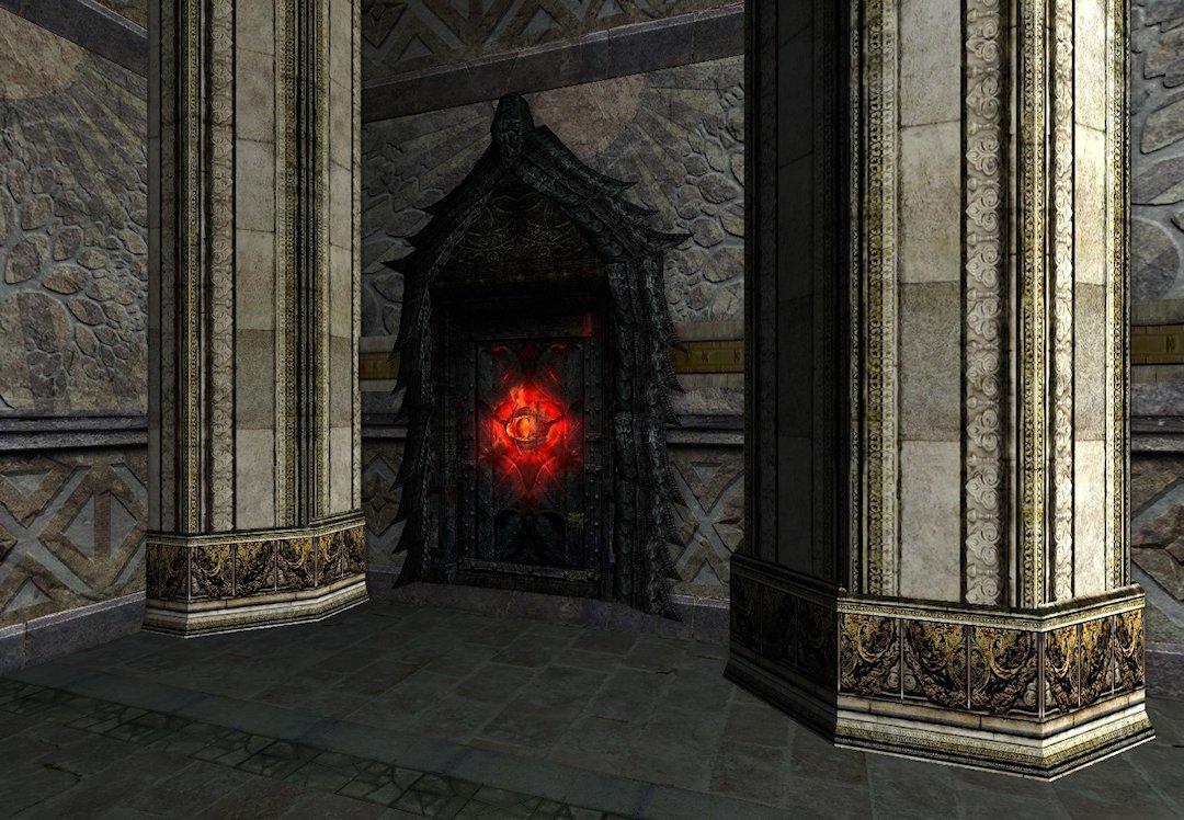 Porte Mystérieuse
