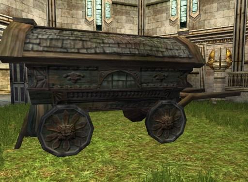 Chariot de Hobbit en mauvais état