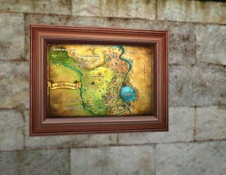Petite carte de l'Est du Rohan