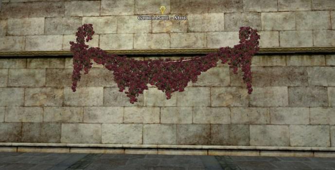 Guirlande – Mur