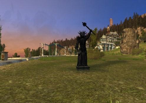 Statue de Sauron