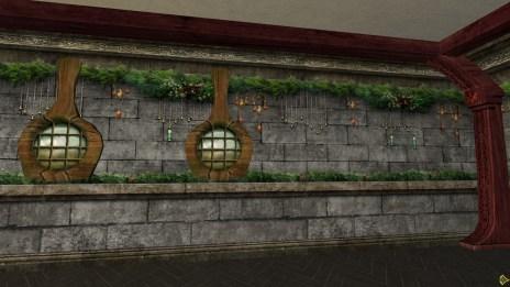 Mur Festif des Nains pour Yule