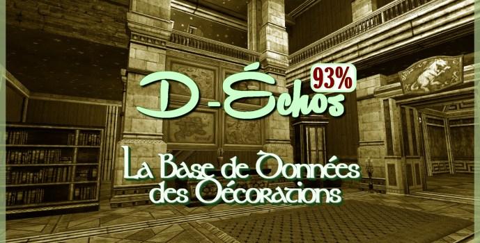 D-Échos : 93%