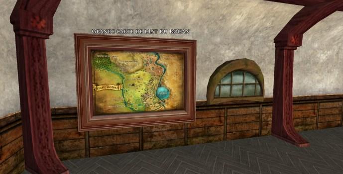 Grande carte de l'Est du Rohan