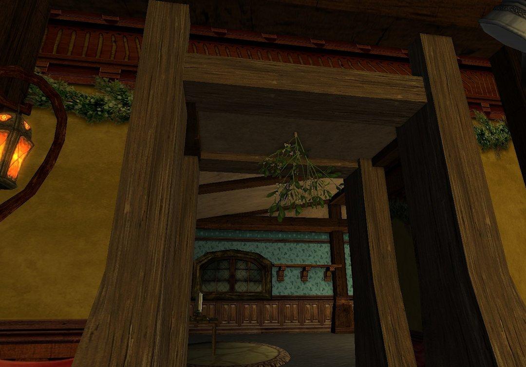 Vous voilà piégé; attention à qui vous croisez sous cette porte. Bisou !