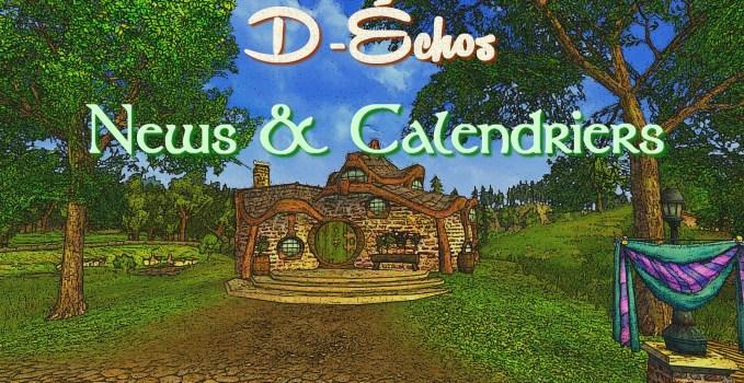 D-Échos : News & Calendriers