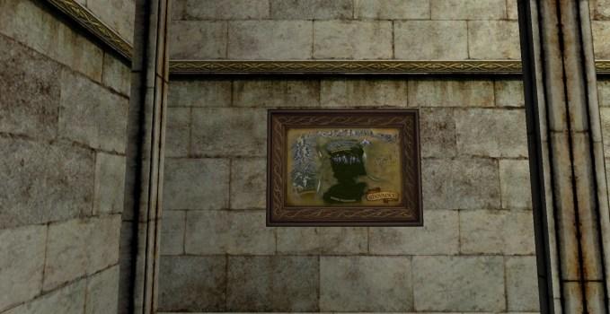 Petite carte de la Lothlórien (2e édition)