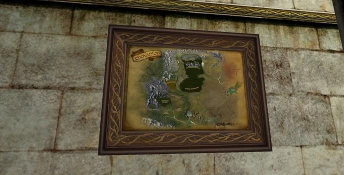 Petite carte du Rhovanion (2e édition)