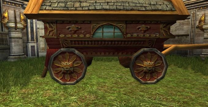 Chariot de Hobbit Rouge