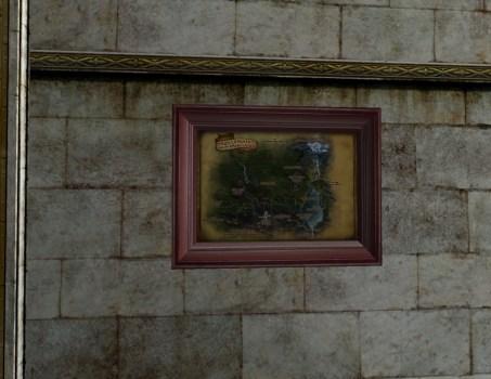 Petite Carte du Nord de la Forêt Noire