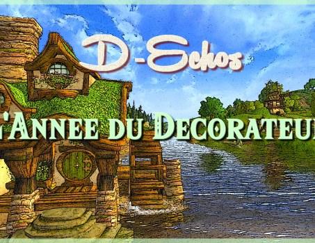 D-Échos : L'année du décorateur