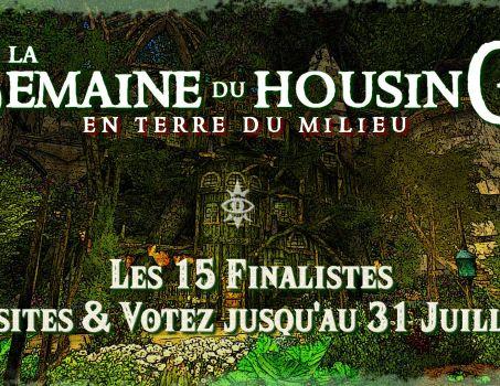 Semaine du Housing #8 – Les 15 finalistes !