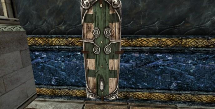 Bouclier Mural de Capitaine du Val