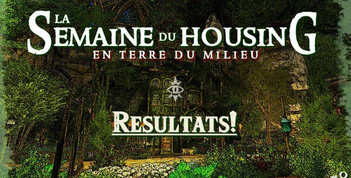 Semaine du Housing #8 – Les Résultats